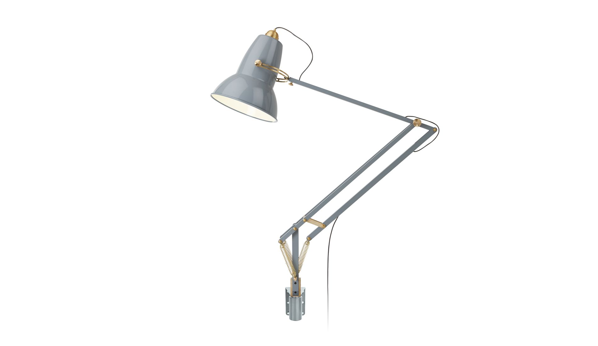 Nástěnná lampa Original 1227 Giant Messing Elefant Grey