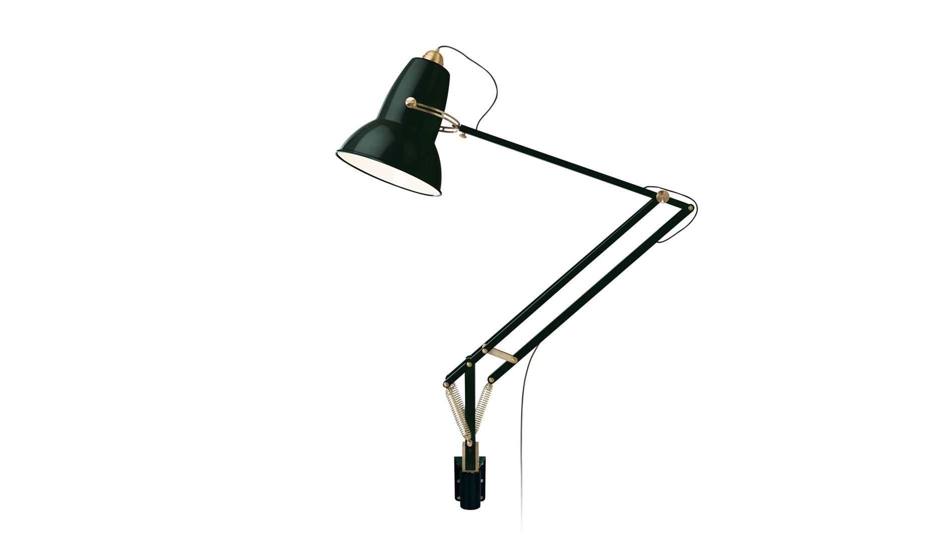 Nástěnná lampa Original 1227 Giant Messing Green