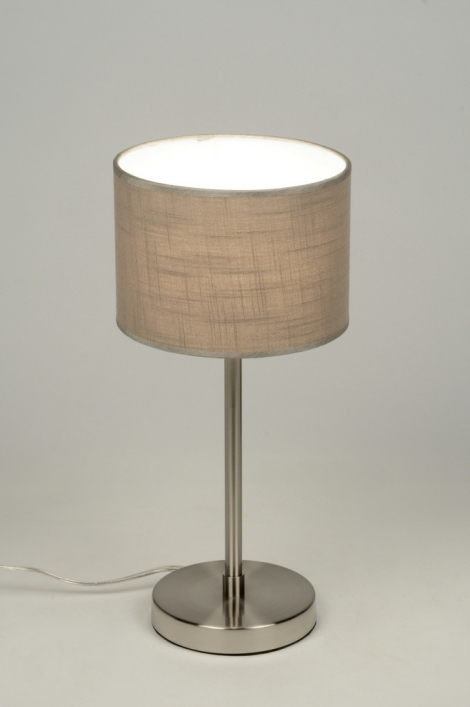 Stolní lampa Roermond Taupe